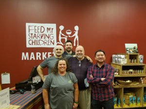 Homestead Road Employees at Feed My Starving Children