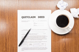Can't Afford a Mortgage Due to Divorce Quitclaim Deed
